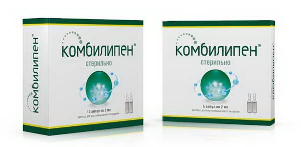 Препарат для лечения неврита лицевого нерва