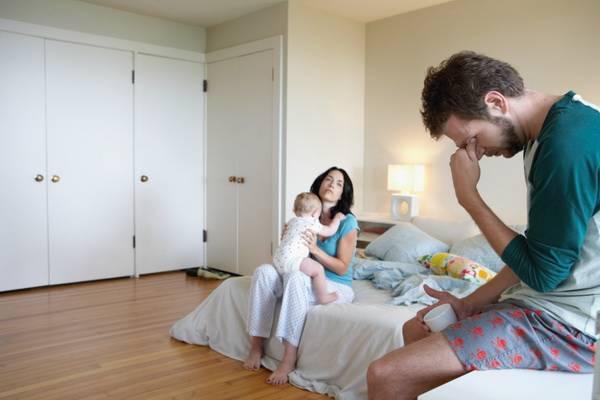 Мужчина и женщина, конфдикт в семье (послеродовая депрессия)