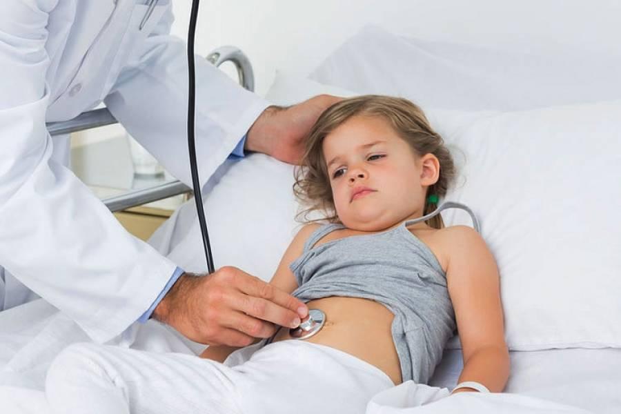 Девочка с ротавирусной инфекцией