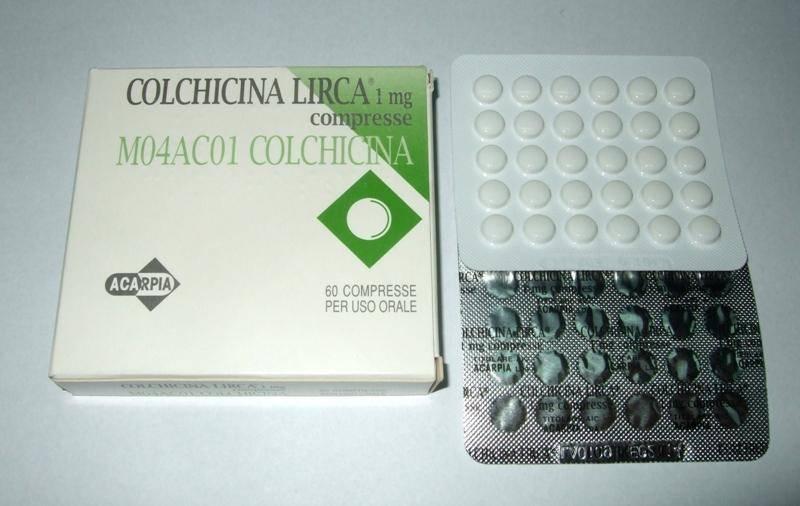 Колхицин фото