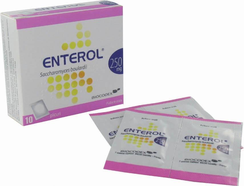 энтерол лекарство инструкция