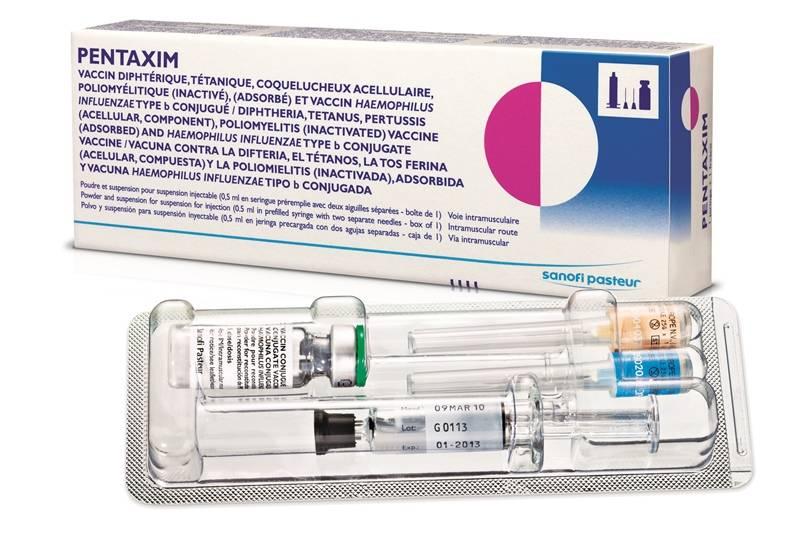пентаксим вакцина инструкция показание к применение