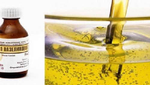 Вазелиновое масло инструкция по применению